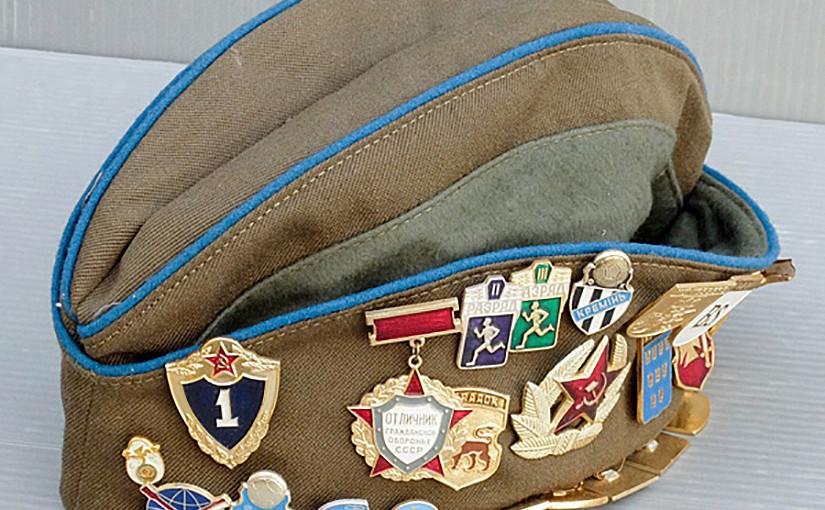 ミリタリーグッズ ソ連軍の制帽