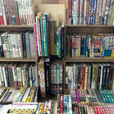 春の古書市 ばおばぶ文庫 棚