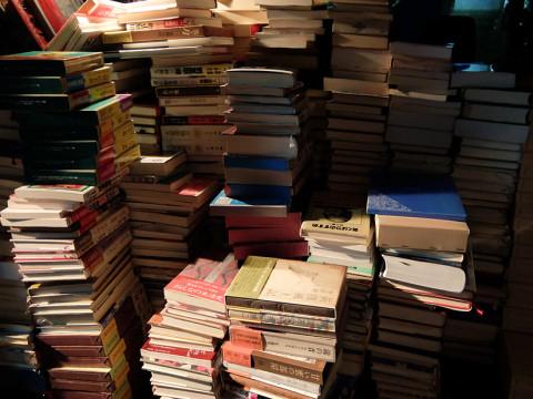 買取例:海外・日本文学 単行本50箱@埼玉県越谷市