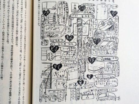 吉田謙吉編著『考現学採集』より「恋愛考現学」