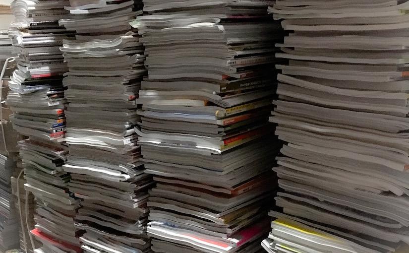 古本出張買取例:アンアン、ケトル、ブレーンなどなど雑誌いろいろ@東京都清瀬市