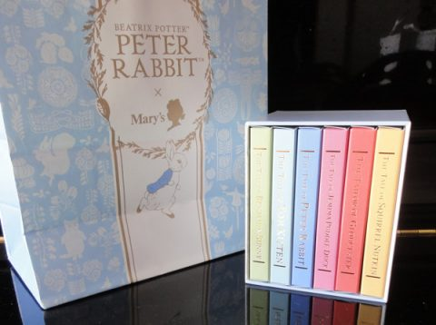 ピーターラビット × メリーチョコレート ブックコレクション 6個入
